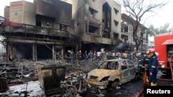 На місці найбільшого вибуху, Багдад, 3 липня 2016 року