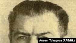 Геннадий Колбин Қазақ ССР компартиясы Орталық комитетінің бірінші хатшысы кезінде.