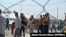 مخيم بحركة في اربيل