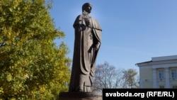 Помнік Эўфрасіньні Полацкай у Полацку.