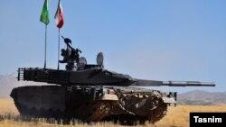"""Iran's """"Karrar"""" tank"""