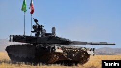 Новий іранський танк «Каррар»