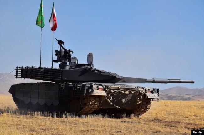 Иранский танк  Каррар