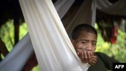Мальчик одного из племен яномамо