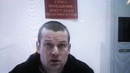Russian opposition activist Leonid Razvozzhayev testifies in January via videolink.