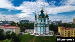 Андреевская церковь в Киеве, построенная в 1747-1762 годах