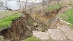 Крым. Оползни после наводнения | Крымское утро