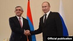 Russia - Presidents Vladimir Putin and Serzh Sargsyan meet in Saint Petersburg, 20 Jun2016