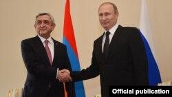 Սերժ Սարգսյան և Վլադիմիր Պուտին, Սանկտ Պետերբուրգ, 20-ը հունիսի, 2016թ․