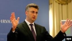 Premijer Hrvatske Andrej Plenković