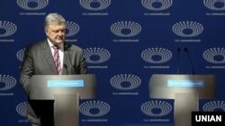 Петр Порошенко на дебатах 14 марта 2019 года