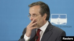 Андонис Самарас, лидер на Нова демократија.