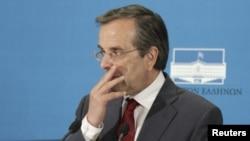 Lideri i Demokracisë së Re Antonis Samaras