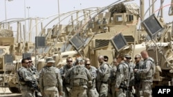 U.S. combat troops have withdrawn from Iraqi urban centers.
