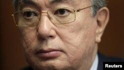Председатель сената (верхней палаты) парламента Казахстана Касым-Жомарт Токаев.