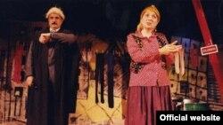 İran teatrında bir tamaşa.