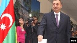 İlham Əliyev səs verir, 15 oktyabr 2008