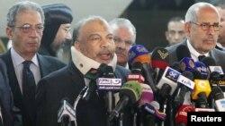 کنفرانس خبری رهبران سیاسی مصر در روز پنجشنبه