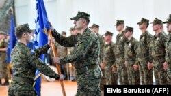 Vojnici Oružanih snaga BiH po odlasku rotacije u NATO misiju u Afganistan, juni 2019