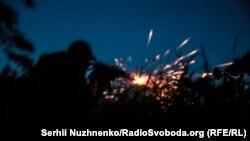 Передові позиції українських військових у селі Травневе, неподалік села Новолуганське, Донецька область, 5 червня 2019 року