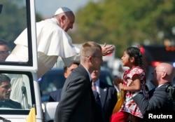 Папа Франциск в Нью-Йорке. 23 сентября 2015 года