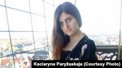 Кацярына Парыжаская. Фота з прыватнага архіву.