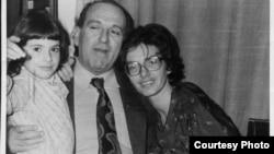 Gheorghe Ursu și familia. imagine de arhivă.