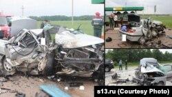 Беларустун Гродно шаарынын четиндеги жол кырсыгы. 31-май, 2013
