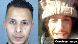 Dvojica traženih Abdeslam Salah (levo) i Abdelhamid Abaud (desno)