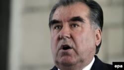 Presidenti i Taxhikistanit, Emomali Rahmon