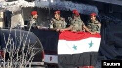 Սիրիայի կառավարական բանակի զինծառայողներ, արխիվ
