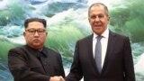 Встреча Сергея Лаврова и Ким Чен Ына. Пхеньян, 31 мая 2018 года.