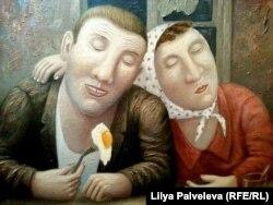 """Владимир Любаров. """"Поздний ужин"""""""