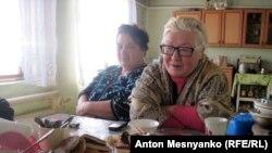 Жители села Долинка, Крым