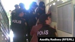 نیروهای پلیس جمهوری آذربایجان