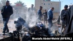 تفجير مزدوج في كربلاء ( من الارشيف)