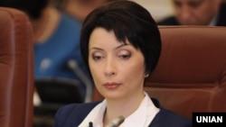 Міністр юстиції Олена Лукаш