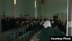 Женщины-заключенные колонии номер 5 Челябинской области