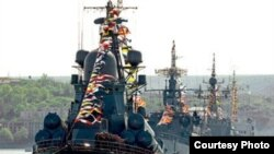 Covoi de vase militare ruse pe Marea Neagră