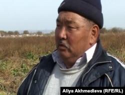 Фермер Айтбай Баядилов.