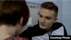 """A scene from """"PUT[IN]LOVE,"""" a short film looking at LGBT and gender identity issues in Russia."""