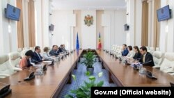 Întrevederea premierului Maia Sandu cu delegația de europarlamentari