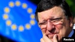 Претседателот на Европската комисија Жозе Мануел Баросо.
