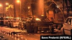 Sa mjesta nesreće u srijedu veče u Podgorici