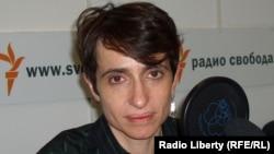 """Маша Гессен, бывший редактор журнала """"Вокруг света""""."""