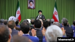دیداری رئیس و نمایندگان مجلس دهم با علی خامنهای