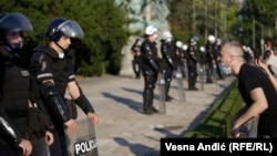 Protestat në Beograd