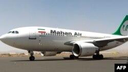 Иранның Mahan Air әуе компаниясының ұшағы. (Көрнекі сурет).
