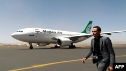 هواپیمای ماهان ایر در صنعا