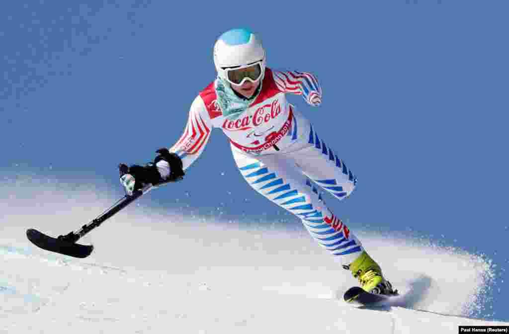 Стефания Джаллен (США), лыжные гонки
